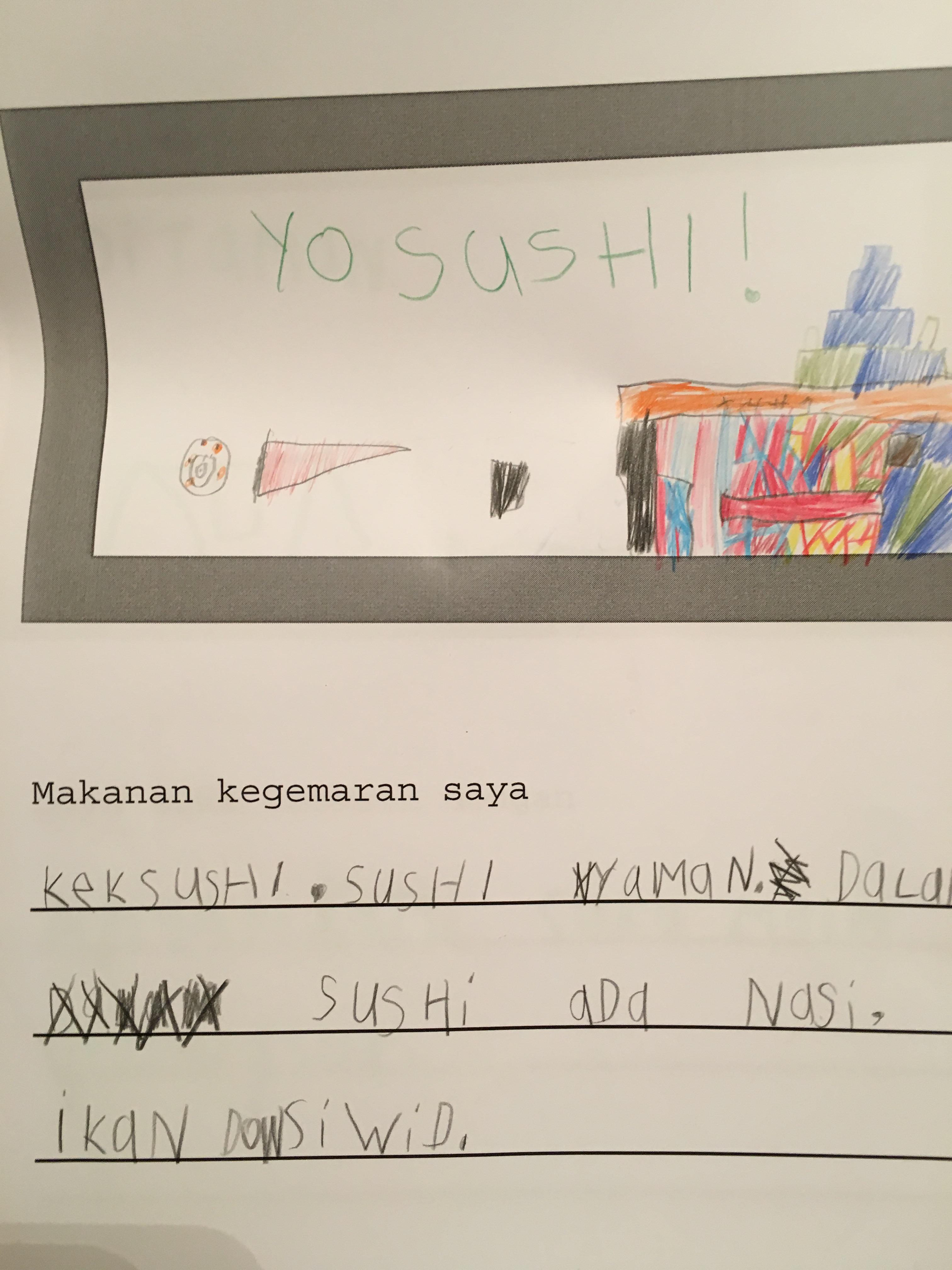 Update on Projek Bahasa Melayu   bibiranbanar